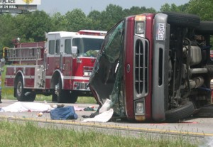 Passenger Van Rollover Accident Attorney
